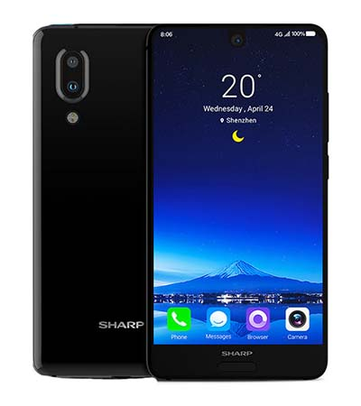 SHARP AQUOS S2 с 5,5-дюймовым bezel-less дисплеем и двумя камерами